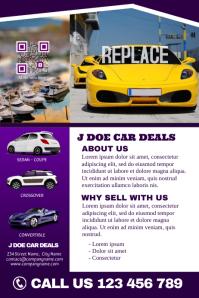 Car dealership brochure