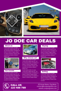 Multipurpose detailed brochure - Great for car dealership business