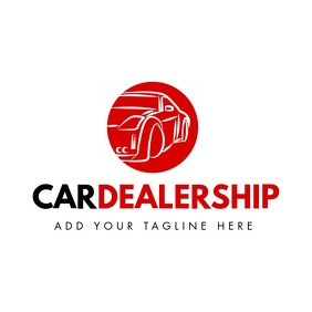 car dealership logo Logotipo template