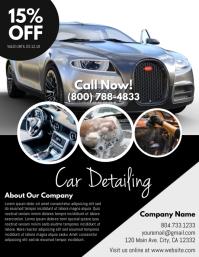 Car Pamflet (VSA Brief) template