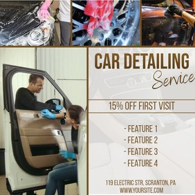 Car detailing video ad