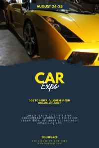 Car Expo Conventions Flyer Template