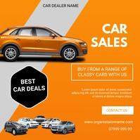 Car flyer Instagram-Beitrag template