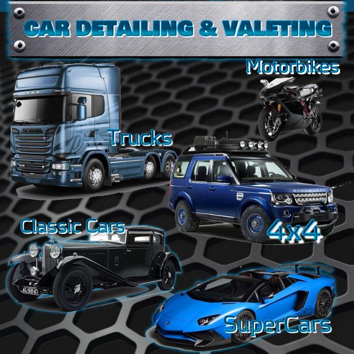 Car flyer template