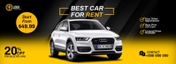 Car For Rent Cover template