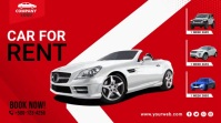 Car for rent prmotion twitter post template