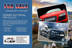 car for sale ad template
