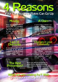 640 Car Insurance Flyer Customizable Design Templates Postermywall