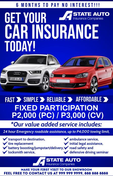 Car Insurance Service Template Tabloide