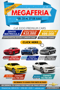 Car Poster Affiche template