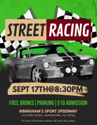Car Racing Flyer