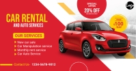Car Rent Facebook Ad template