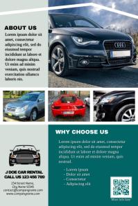 Car rental brochure - Professional template