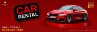 Car Rental Promotion Email Header Banner template