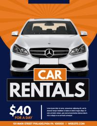 760 Car Rental Customizable Design Templates Postermywall