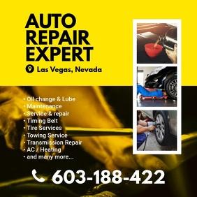 Car Repair Instagram Twitter Post