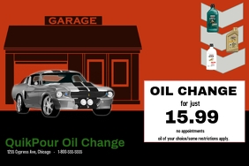 car repair/oil change/auto/car care/mecanico