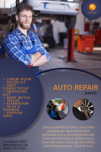 Car Repair Service Flyer Template