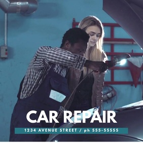Car Repair Service Video template