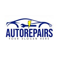 Car Repairs Logo Template Logotipo