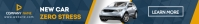 car retail leaderboard advertisement template