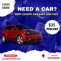 Car sale Instagram Post template