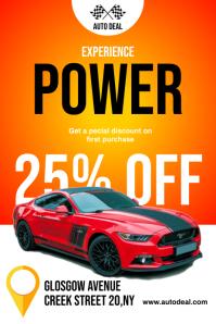 Car Sale Discount Flyer