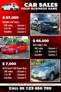 7 930 customizable design templates for car sale postermywall