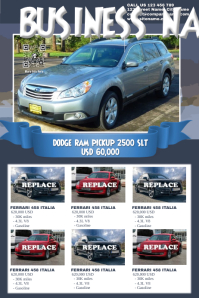 Great Car Sale Poster   Auto Dealership Flyer  Car For Sale Flyer