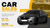 Car Sale Promotion Blog Header Banner template