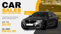 Car Sale Promotion Twitter Post Design template