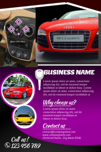 Car Sales Brochures Template