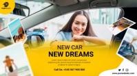car sales โพสต์บน Twitter template