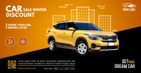 Car Sales Facebook Shared Image template