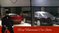 Car Sales Visitenkarte template