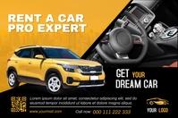 Car Sales Etiket template