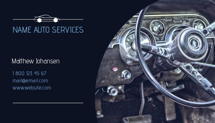 Car Services Business Card