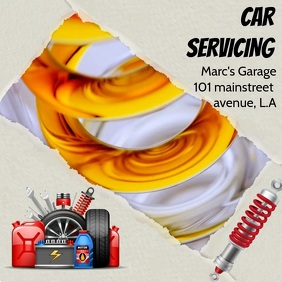 CAR SERVICING VIDEO AD TEMPLATE