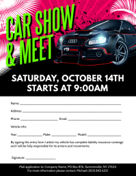 Car Show & Meet Flyer