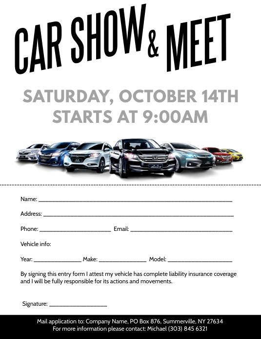rdm car meet flyer