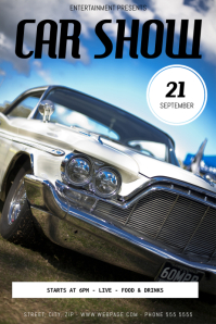 Customizable Design Templates For Car Show Event PosterMyWall - Blank car show flyer
