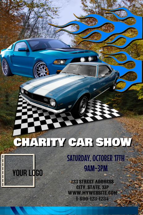 car show fundraiser template