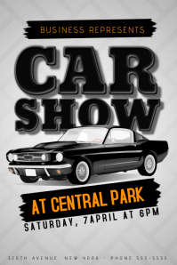 Customizable Design Templates for Car Show Event | PosterMyWall