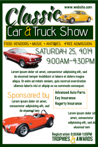 22 170 customizable design templates for car show event postermywall
