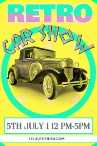 Car Show Template Poster