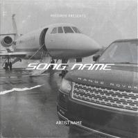 Car SUVs Airplane mixtape cover template Okładka albumu