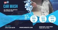 Car Wash Ads Facebook Shared Image template