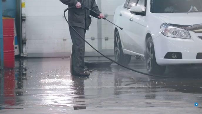 car wash YouTube 缩略图 template