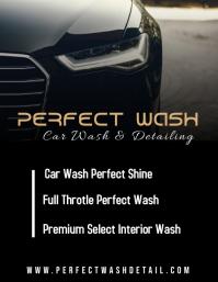 Car Wash Flyer