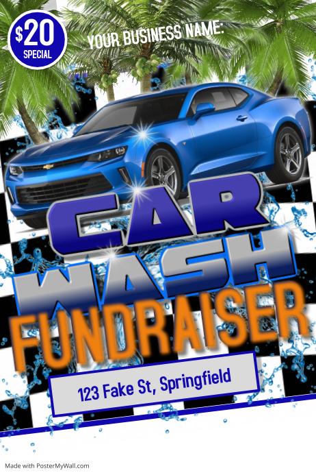 Car Wash Flyer Poster